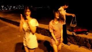 Cliff diving, Bridge Jumping, random dance party, road to Hana in Maui and Oahu, Hawaii  1080P HD
