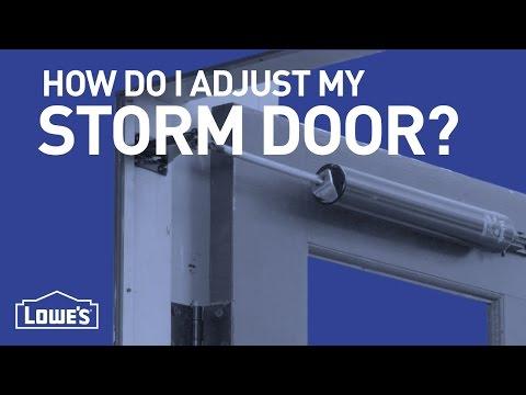 how-do-i-adjust-my-storm-door?-|-diy-basics