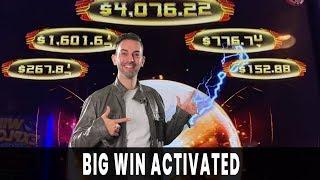💰 BIG WIN ACTIVATED ⚡ HUGE Progressive WIN on Lightning Zap
