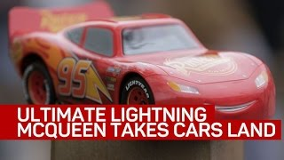 We take Sphero's Ultimate Lightning McQueen on a road trip to Cars Land