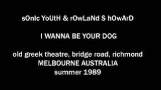 "Rowland S. Howard & Sonic Youth AUDIO ONLY ""I Wanna Be Your Dog"" live"