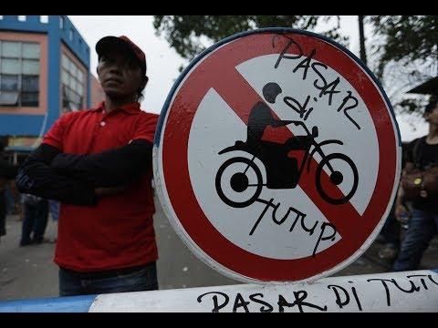 Harga Sewa Berubah, Ratusan Pedagang Pasar Induk Tanah Tinggi Protes