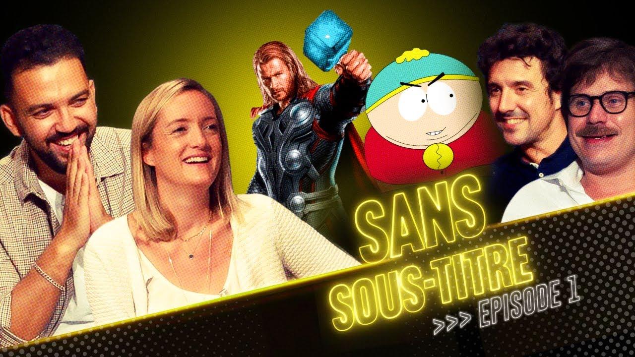 SANS SOUS-TITRE 1 – Christophe Lemoine et Adrien Antoine (Cartman et Thor)