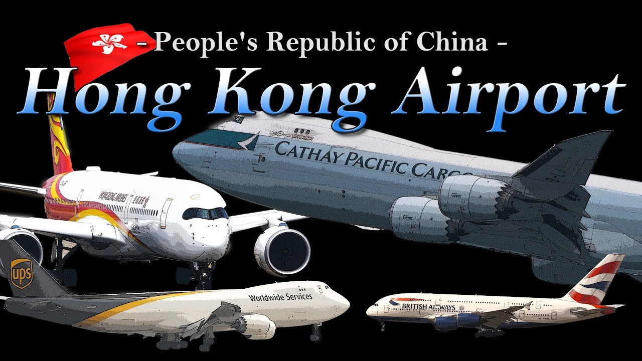 【4K】Special !! Ultra-HD 4Hour!! in Hong Kong Airport 2018 the Amazing Airport Spotting