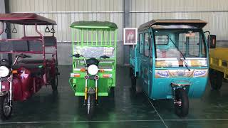 #electric tricycle for passenger #electric cargo tricycle  hot star electric vehicle exhibition room