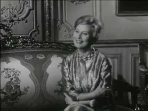 Michèle Morgan à Versailles (1959)