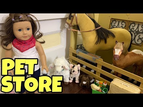 American Girl Doll Pet Store