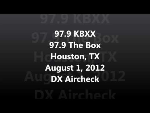 Aircheck DX  979 KBXX 979 The Box Houston, TX 08012012