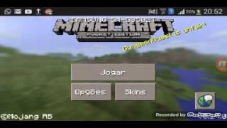 Como jogar Minecraft online  pelo Bluetooth