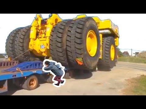 Heavy Equipment Accidents Caught On Tape | Construction Accidents  Fail