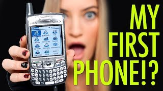 📱 MY FIRST CELL PHONE!!!! Video