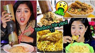 I only ate BIRYANI  for 24 HOURS Challenge   Nilanjana Dhar   India