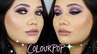 Glam Colourpop Makeup Tutorial