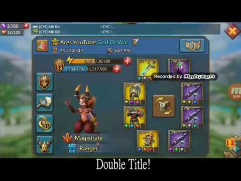 *Lords Mobile* Double Title+Review