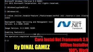 Cara Instal Net Framework 3 5 di Windows 10 Offline 100% Work