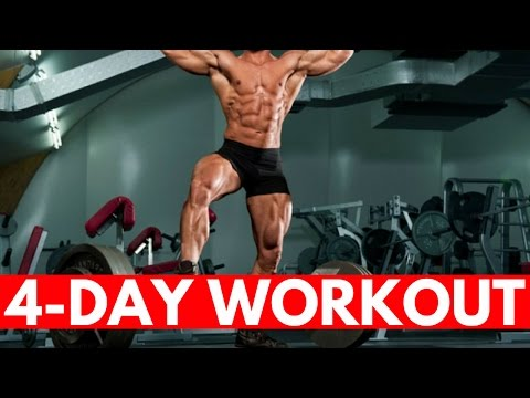 4-Day Push/Pull Workout for Size and Strength