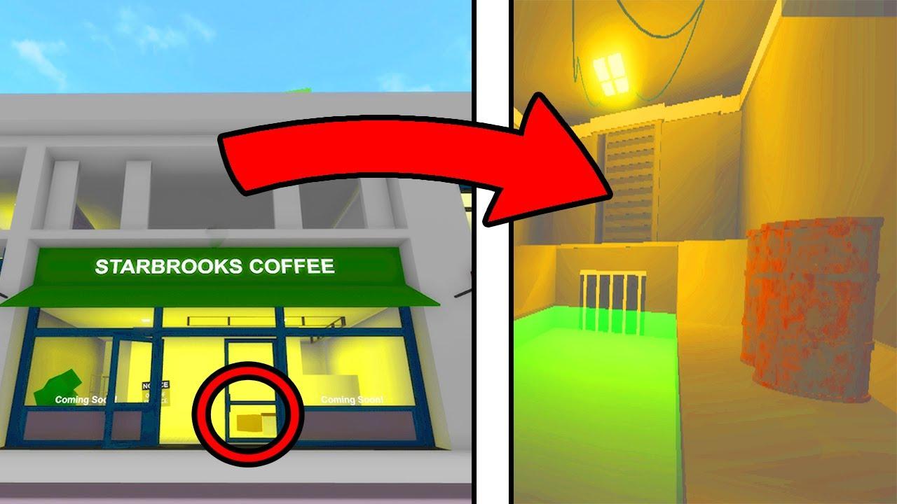 *NEW COFFEE SHOP SECRET* in Roblox Brookhaven 🏡 (HUGE SECRET IN STARBROOKS)