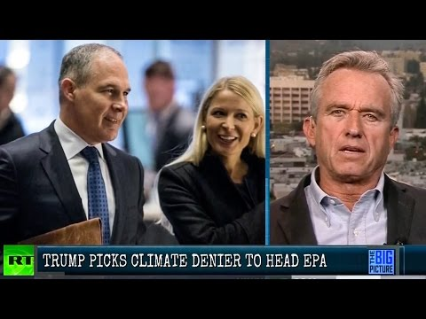 Climate Change Denier Chosen To Head EPA