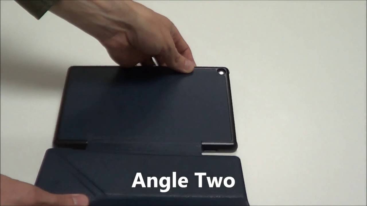 Fintie Fire Hd 8 2016 Origami Case Youtube