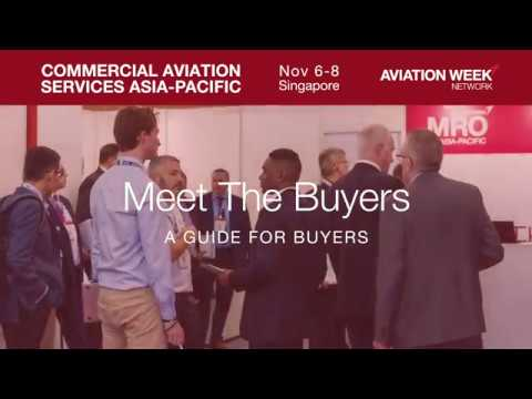 Meet the Buyers at Commercial Aviation Services Asia-Pacific 2018