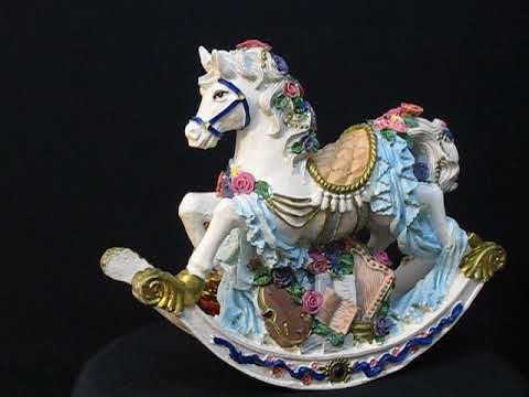 Rocking horse music box series