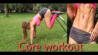 Core Workout for Ripped Abs | using Lebertfitness Equalizers