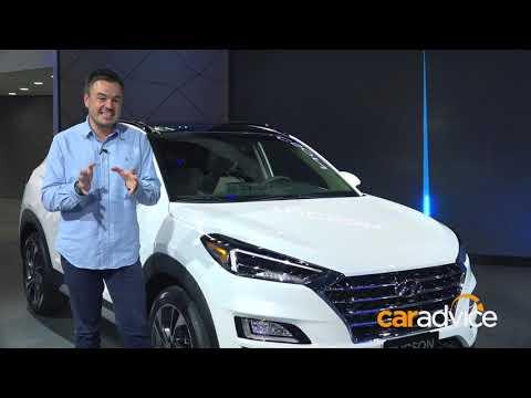 2018 Hyundai Tucson facelift first look - 2018 New York motor show
