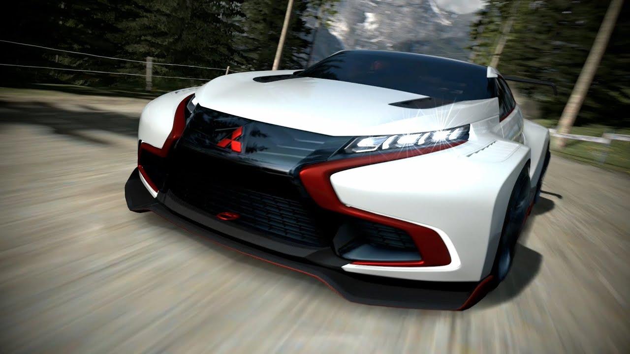 Mitsubishi Concept Xr Phev Evolution Vision Gran Turismo