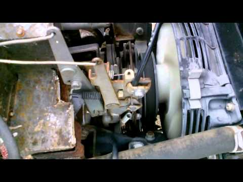 how to change pto clutch on lawn mower