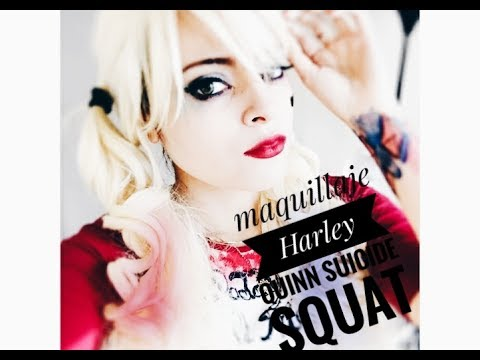 Maquillaje Harley Quinn Disfraz costume | Suicide Squad costume | Escuadrón Suicida |