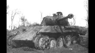 2 мировая война подбитая пантера