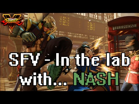 SFV - In the lab with... NASH (Hes growing on me)