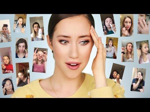 I Followed YOUR Makeup Tips thumbnail