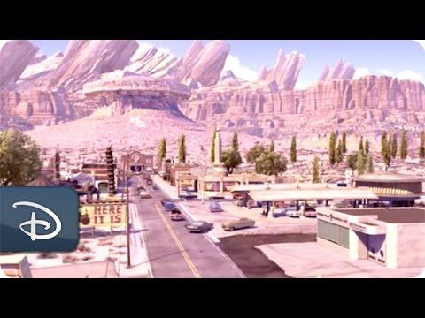 Making Mountains In Cars Land | Disney California Adventure Park