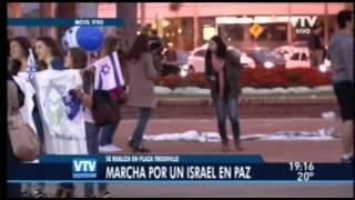 vtv noticias marcha en vivo por un israel en paz