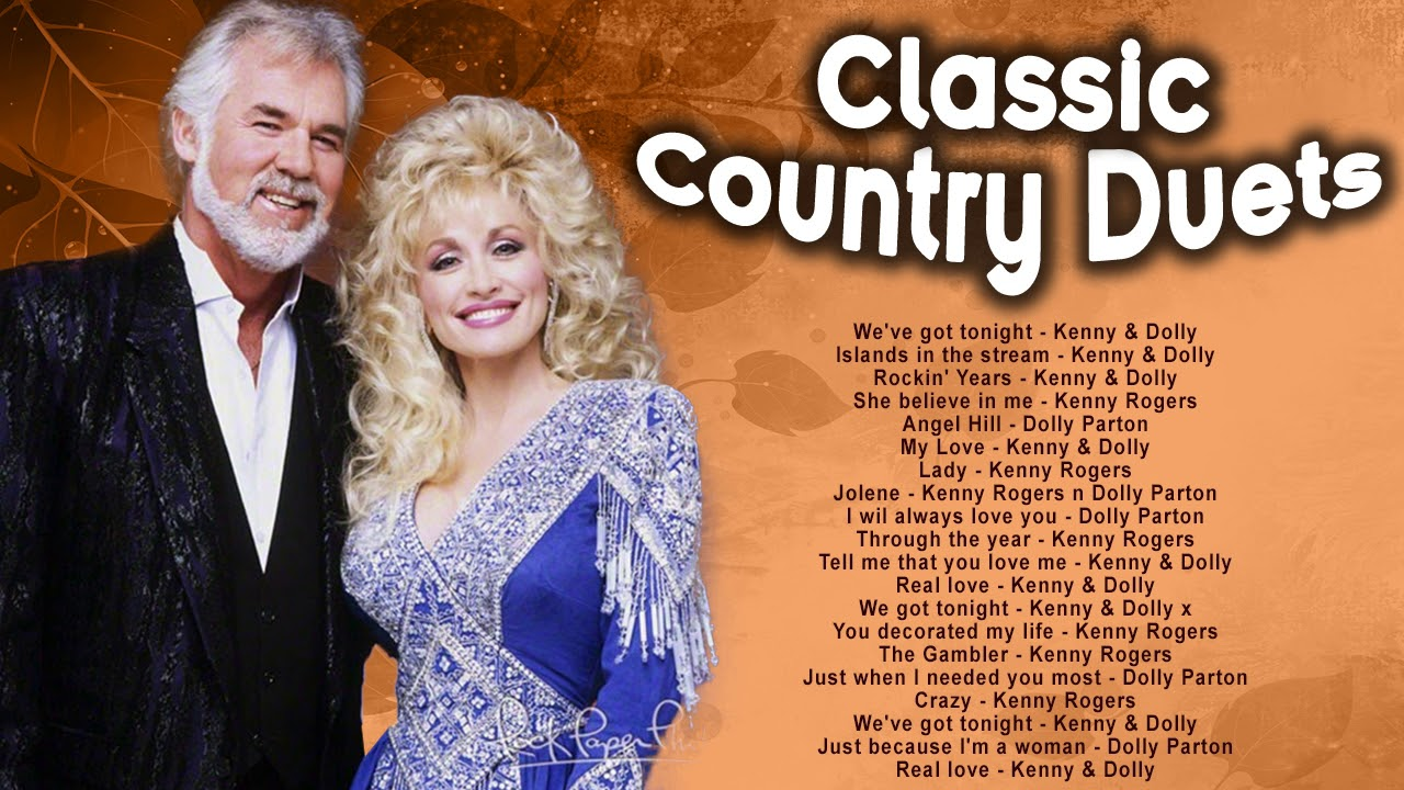 Kenny Rogers Dolly Parton Greatest Hits Ful Album Best Songs Of Kenny Rogers Dolly Playlist Youtube