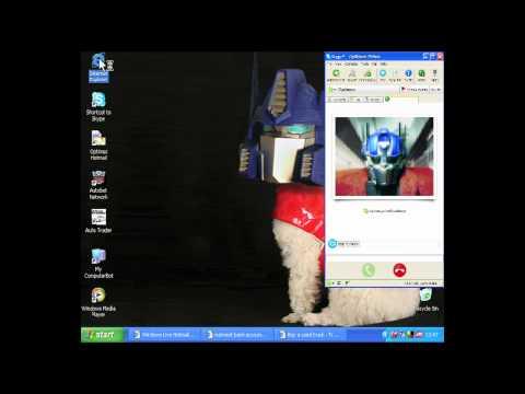 Celebrity Desktops: Optimus Prime