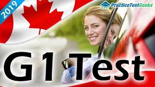 G1 Practice Test Ontario 2019