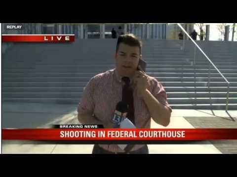 Salt Lake City Courthouse Shooting US Marshall Shoots Gang Member