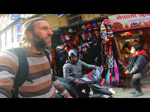 Walking the Streets of Incredible Kathmandu, Nepal Unedited