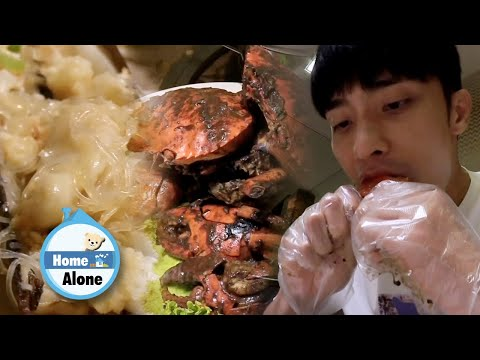 Sung Hoon Gulps Down The Noodles First! [Home Alone Ep 302]