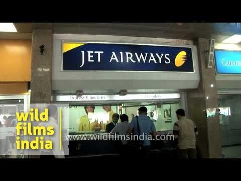 Jet Airways ticketing counter