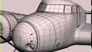 Lockheed L-10 Electra 3D model from CGTrader.com
