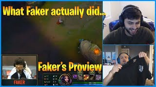 Yassuo Reacts to What Faker Actually did in World...   Faker's Proview   LoL Daily Moments Ep 698