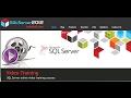 MS SQL Server 2012 Training - Configuration Manager for SQL Server 2012 - Part 1/2