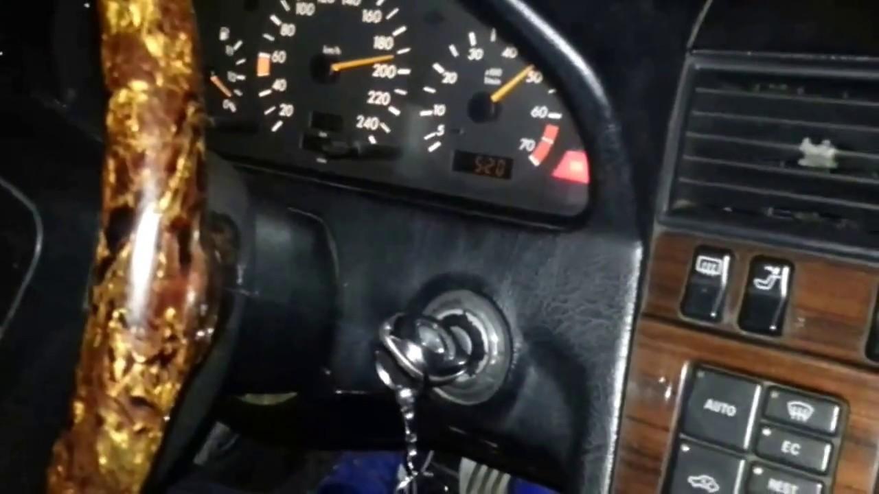 mercedes c200 elegance 1995 hız testi(otomatik) - youtube
