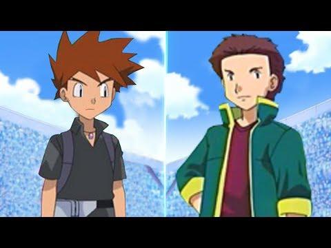 Pokémon Battle USUM: Gary Vs Tyson (Ash's Rival Face Off!)