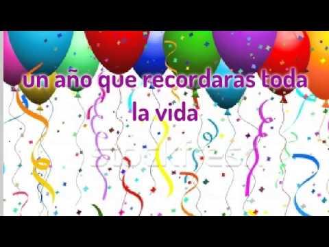 Feliz cumplea os para ti youtube - Feliz cumpleanos en catalan ...