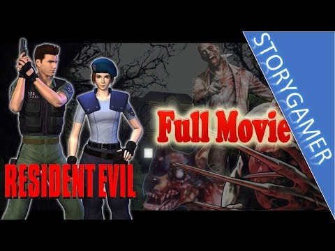 Resident Evil 1 Full Movie Jill & Chris Cutscenes