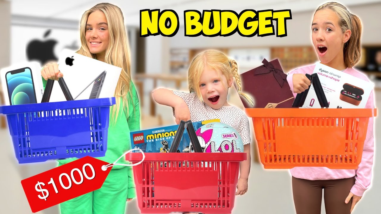IF IT FITS IN YOUR BASKET, I'LL BUY IT - CHALLENGE!!